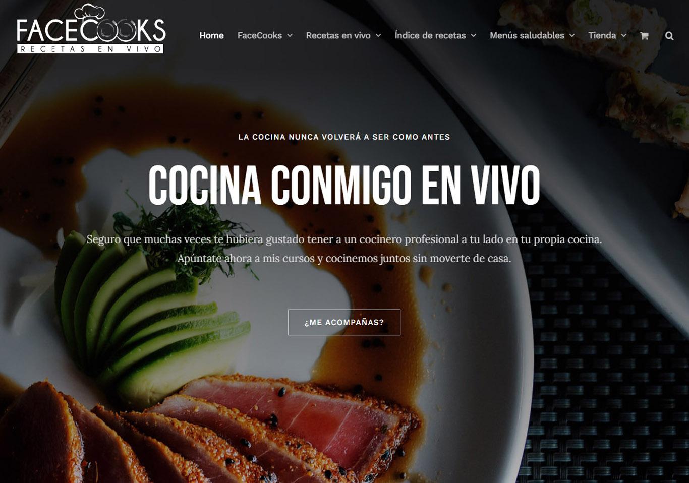Facecooks, cocina en directo